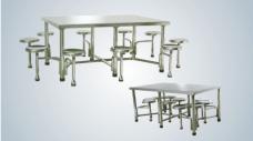 豪华型餐桌连凳