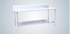 不锈钢靠背工作台